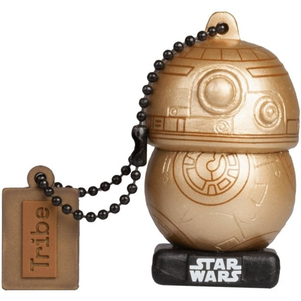 pendrive divertido bb8 gold